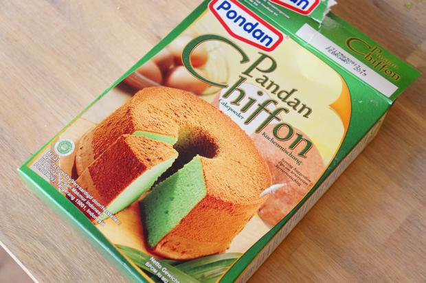 pandan chiffon cake_2