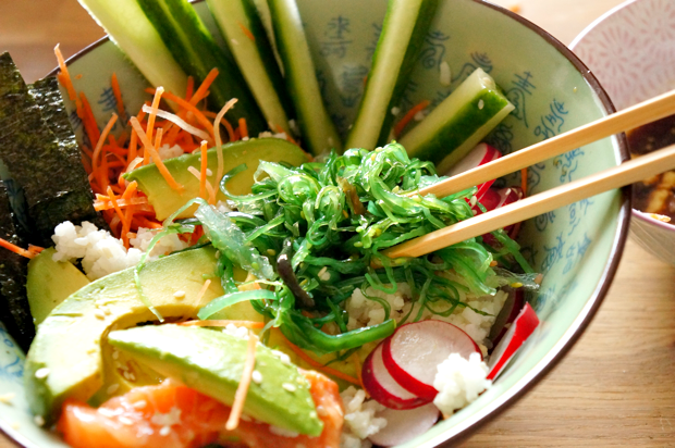 for sushi rice sushi salad sushi rice quinoa sushi vegetable sushi ...