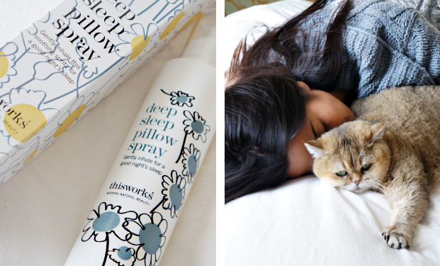 this works deep sleep pillow spray review