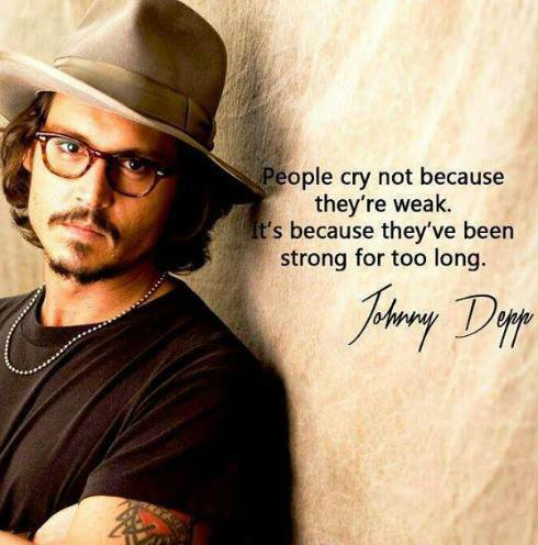 Johnny Depp quote bron picquote.net