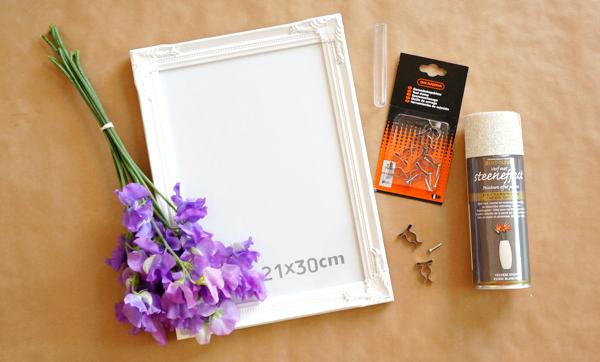 DIY bloemenvaasje in een lijstje-01
