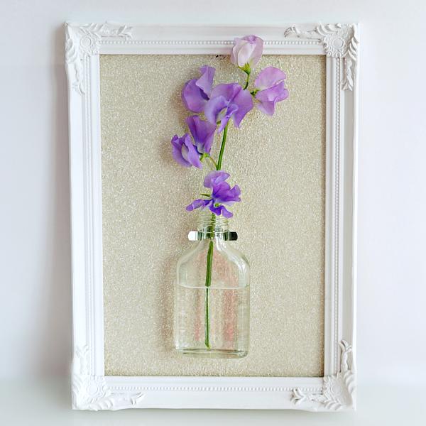 DIY bloemenvaasje in een lijstje-16