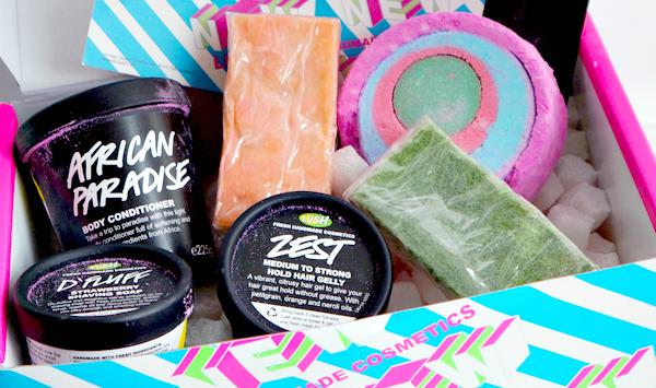 nieuwe lush zomer producten