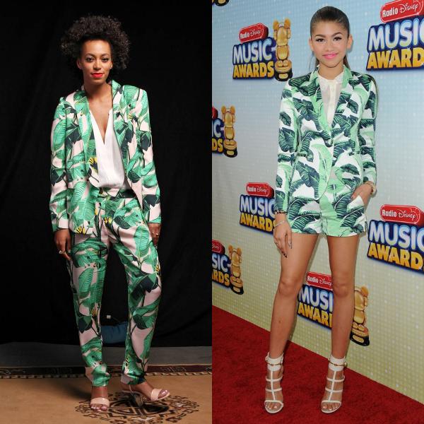 palm print suits