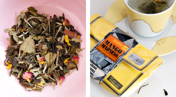 tea bar tea clutch