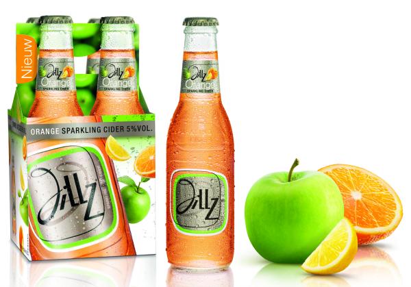 Jillz_Orange_4pack_fles fruit