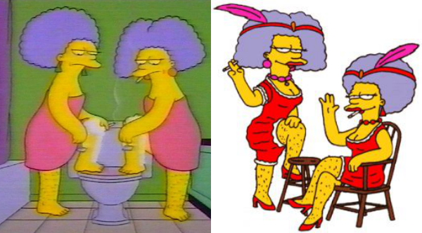 aunts The Simpsons
