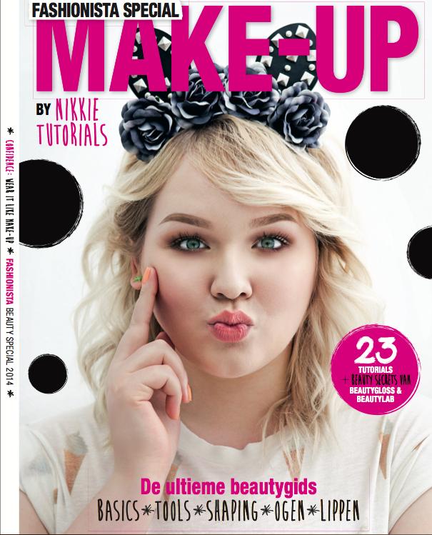 fashionista magazine nikkie tutorials cover