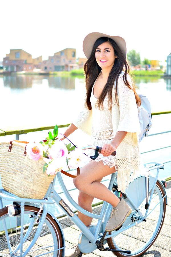 pastel bicycle
