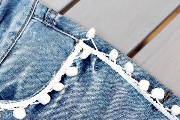 diy easy pom pom jeans-4