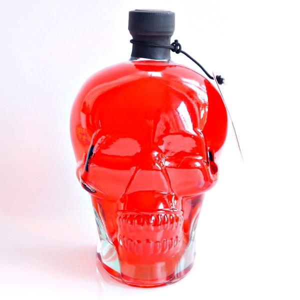 glass skull vase-3