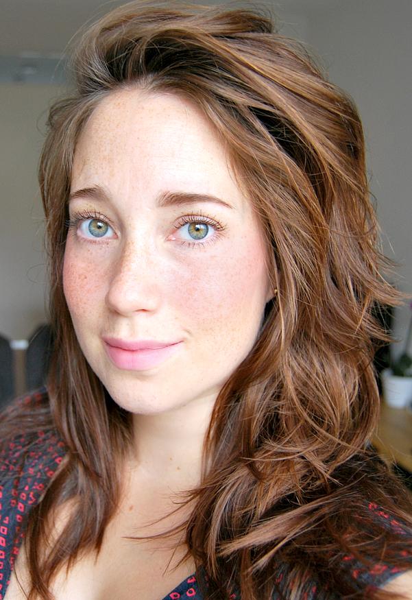 mascara & brows