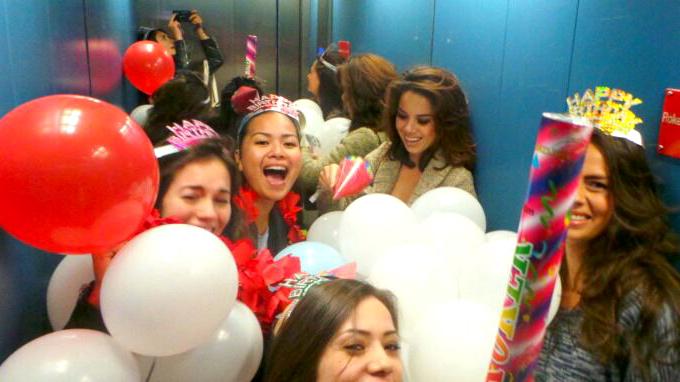 Serena's Surprise Party