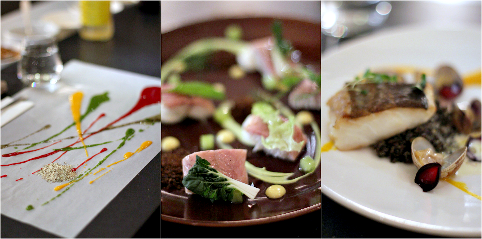 3 chefs food