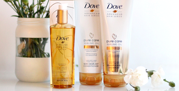 Dove Pure Care Sublime Oil review
