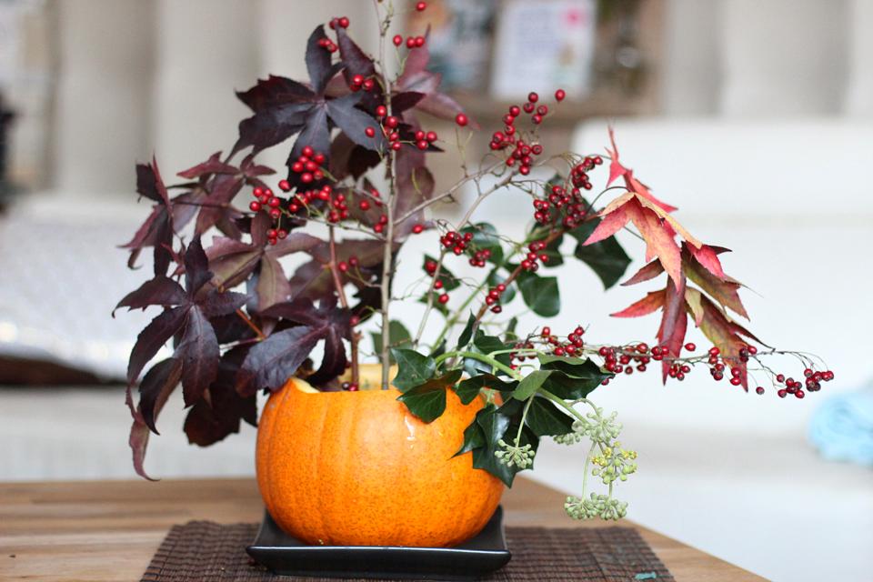 herfstdecoratie in pompoen_10