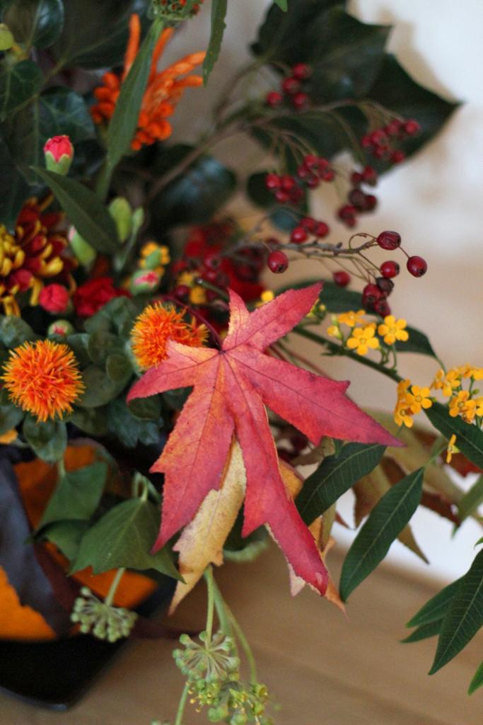 herfstdecoratie in pompoen_14