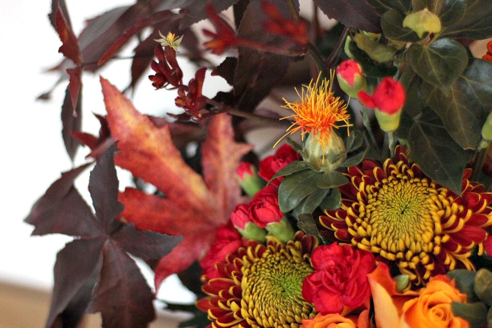 Diy herfstdecoratie in een pompoen - Decoratie afbeelding ...