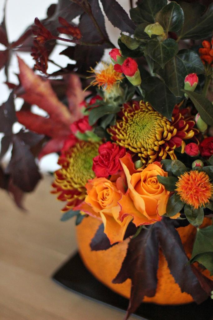 herfstdecoratie in pompoen_16