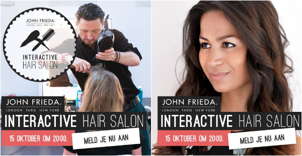 John Frieda Interactive Hair Salon