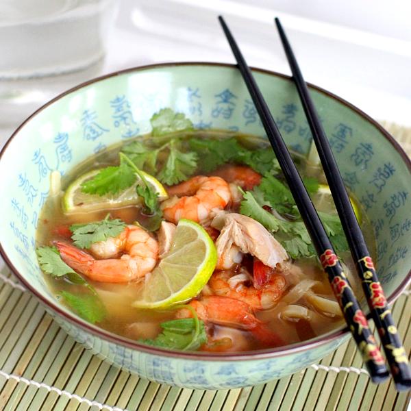 thaise kippensoep met garnalen_1