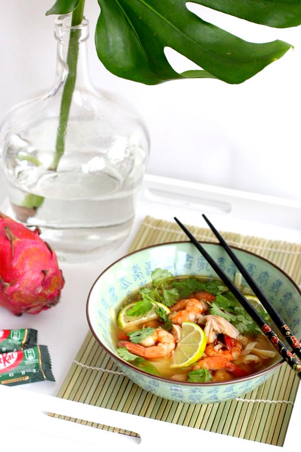 thaise kippensoep met garnalen_2