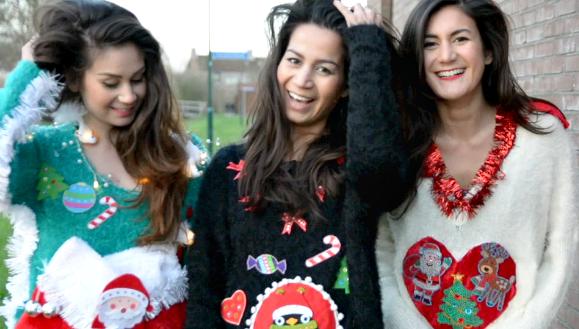 Foute Kersttrui Zelf Maken.Diy Ugly Christmas Sweaters Beautylab Nl
