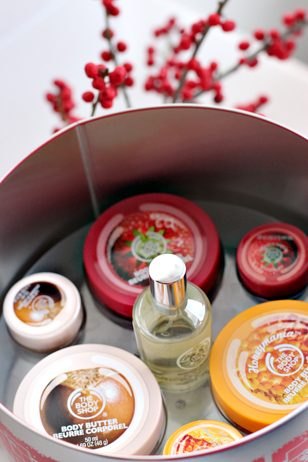 the body shop winter wonderful musix box