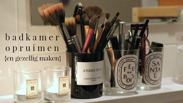 Badkamer opruimen (vlog) - Beautylab.nl
