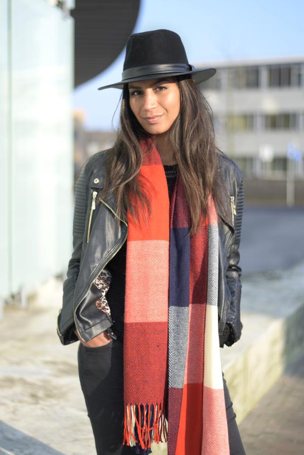 ootd_tartan scarf_3