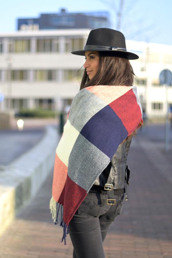 ootd_tartan scarf_5