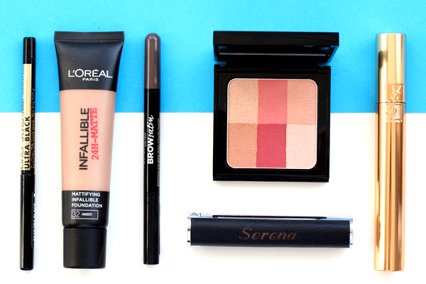6 x everyday make-up producten