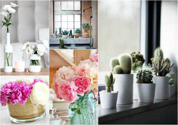 bloemen in interieur