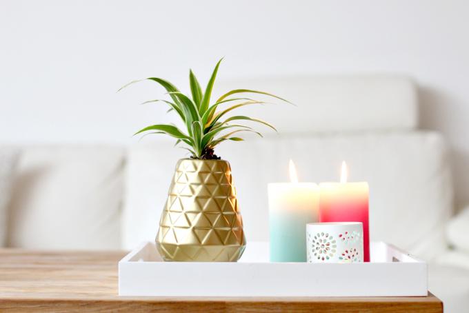 DIY | ananas vaas