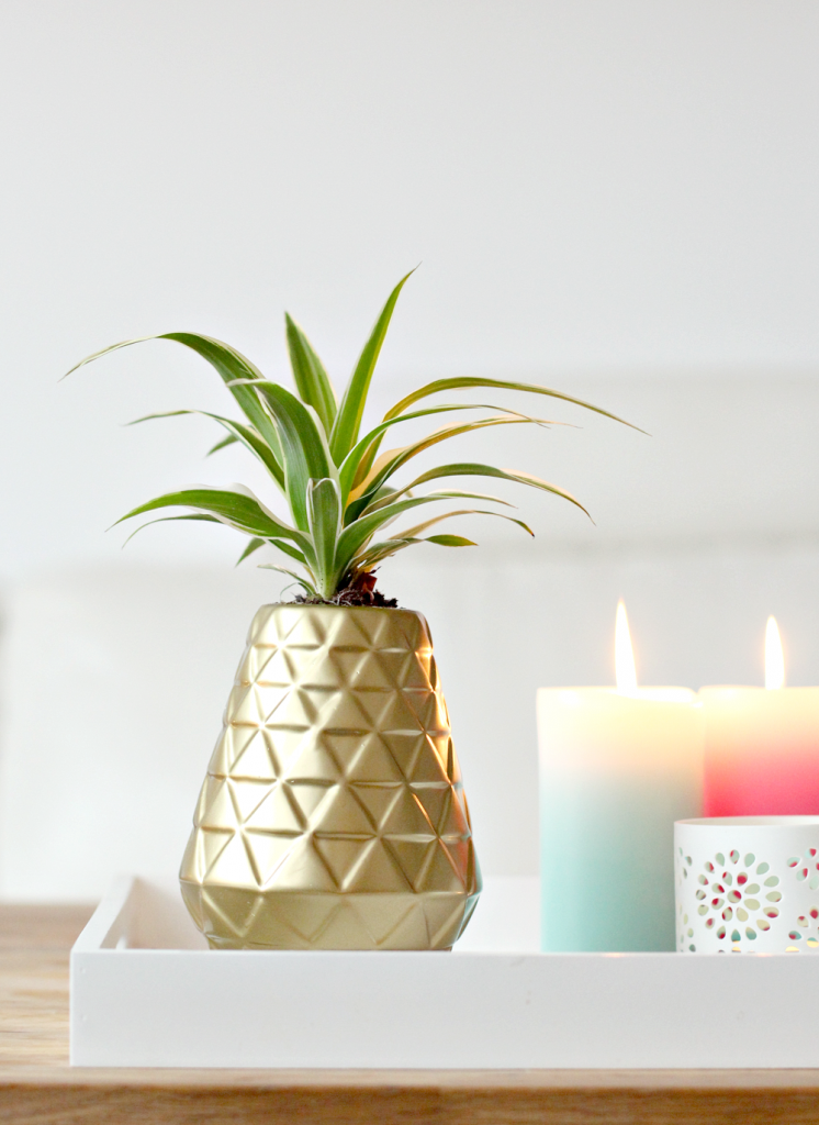 diy pineapple vase_3