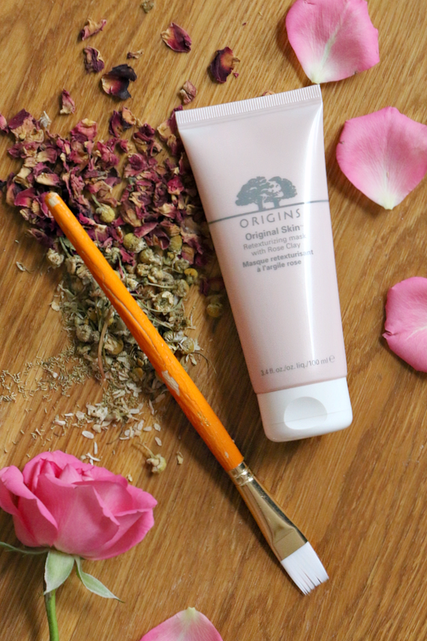 origins pink rose clay mask  - 10