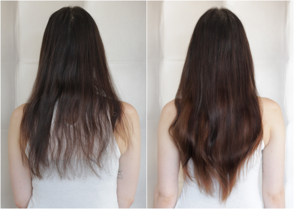 voor en na halo achter