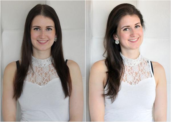 voor en na touperen