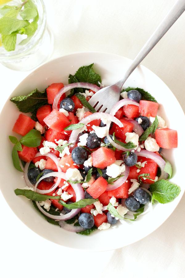 zomerse salade recepten - 1