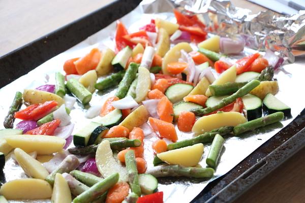 Exotische zalmfilet met gegrilde groenten - 15