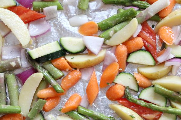 Exotische zalmfilet met gegrilde groenten - 16
