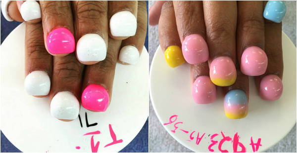 bubble nails trend 2015