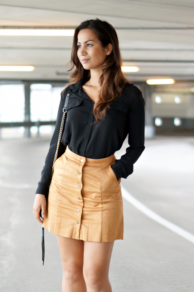 button front skirt  - 2