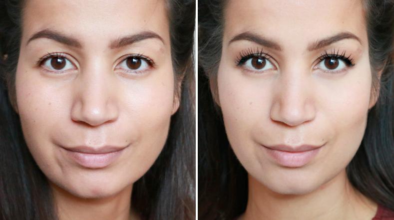 makeup baking voor en na
