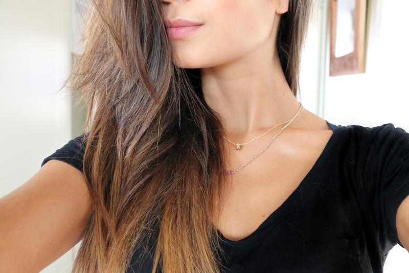 rose gold hair before