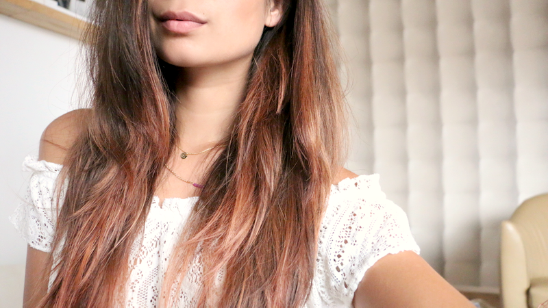 rose gold hair diy