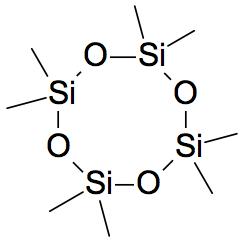 structuurformule cyclomethicone