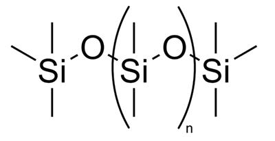 structuurformule dimethicone