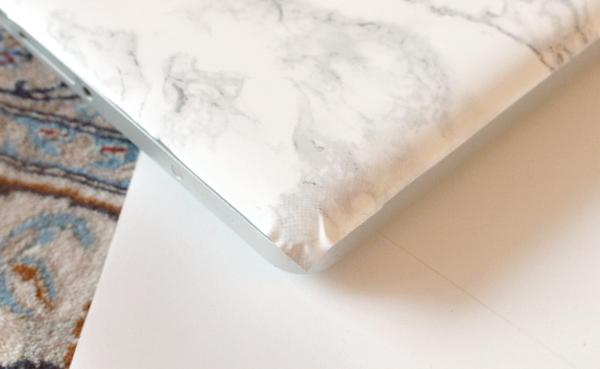 DIY marmeren laptop case - 8