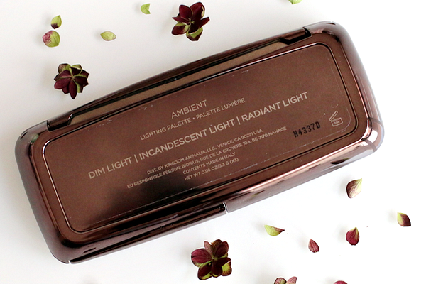 Hourglass ambient lighting palette - 30